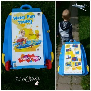 Water fun troley kufrík